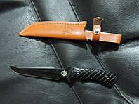 """Нож охотничий в чехле """"Американский танто"""". Портативный нож туристический."""