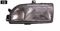 Фара Ford Sierra 90г Левая 2 лампы эл. Корректор