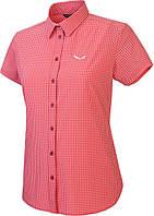 Рубашка женская Salewa Puez Mini Check Dry Wmn (2017), S красный 1894