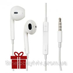 Наушники Apple iPhone EarPods с микрофоном