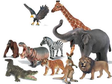 Фигурки: животные