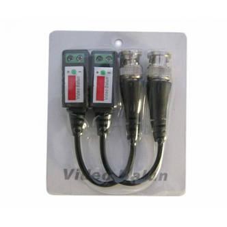 2 х Пассивный UTP BNC видео трансивер, CCTV балун, фото 2