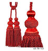 Декоративные кисти для штор, подвязки Бархатный Красный
