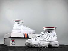 Женские кроссовки в стиле Fila Disruptor II EVO Sockfit, фото 3