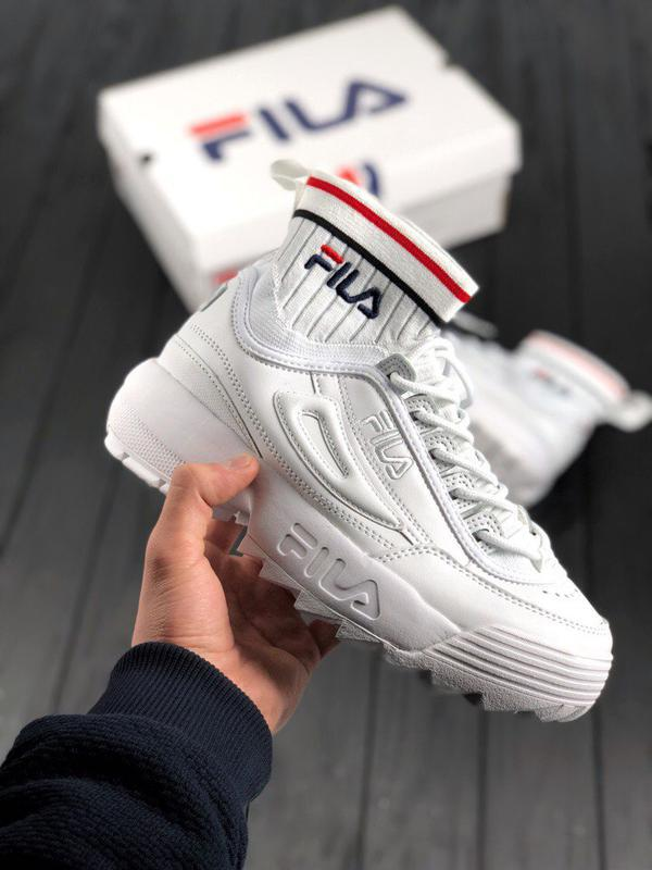 Женские кроссовки в стиле Fila Disruptor II EVO Sockfit