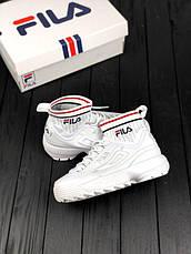 Женские кроссовки в стиле Fila Disruptor II EVO Sockfit, фото 2