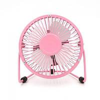 USB настольный вентилятор Pink