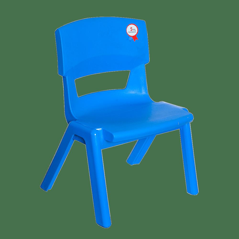 Стул детский Irak Plastik Jumbo №1 синий