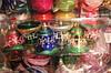 Шары новогодние Колокол, набор 6шт. d=6см. с рисунком