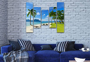 Картины на кухню фото, на Холсте син., 80x100 см, (80x18-2/55х18-2/40x18), фото 3