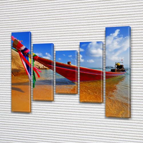 Картины для спальни на холсте фото, на Холсте син., 80x100 см, (80x18-2/55х18-2/40x18)