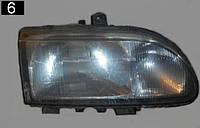 Фара Ford Scorpio 94г.Правая 2лампы эл.корректор