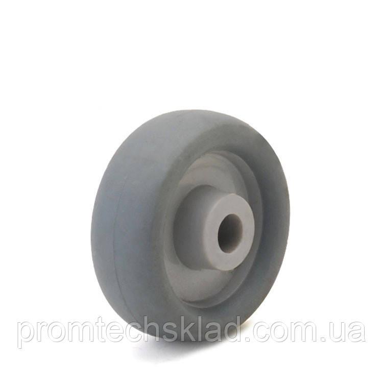 Колесо 100 мм резиновое аппаратное без кронштейна Германия