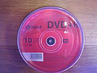 Диски X-Digital DVD+R 4.7GB CakeBox 10