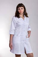 Женский медицинский халат белый купить недорого, 40-54