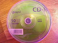Компакт-диск X-Digital CD-R 700MB/52x CakeBox 50, фото 1