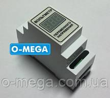 Вольтметр цифровой переменного тока однофазный DIN