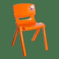 Стілець дитячий Irak Plastik Jumbo №2 помаранчевий