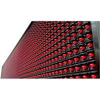 Вывеска табло бегущая строка 100х20см красная