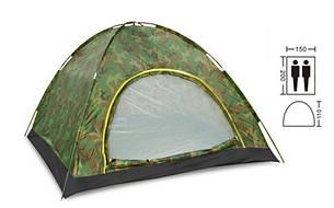 Палатка универсальная самораскладывающаяся 2-х местная SY-A-34-HG, фото 2
