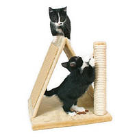 Домик для кошки Avila высота 40см, плюш, бежевый trixie 43741
