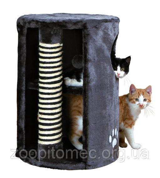 Домик-башня для кошки  Dino с когтеточкой, ø41 х 58см.TRIXIE 4336