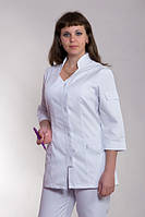 Женский медицинский костюм белый  42-60