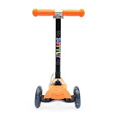 Детский самокат Scooter Easy (Оранжевый)