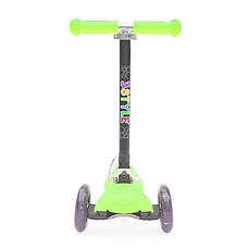 Детский самокат Scooter Easy (Салатовый)
