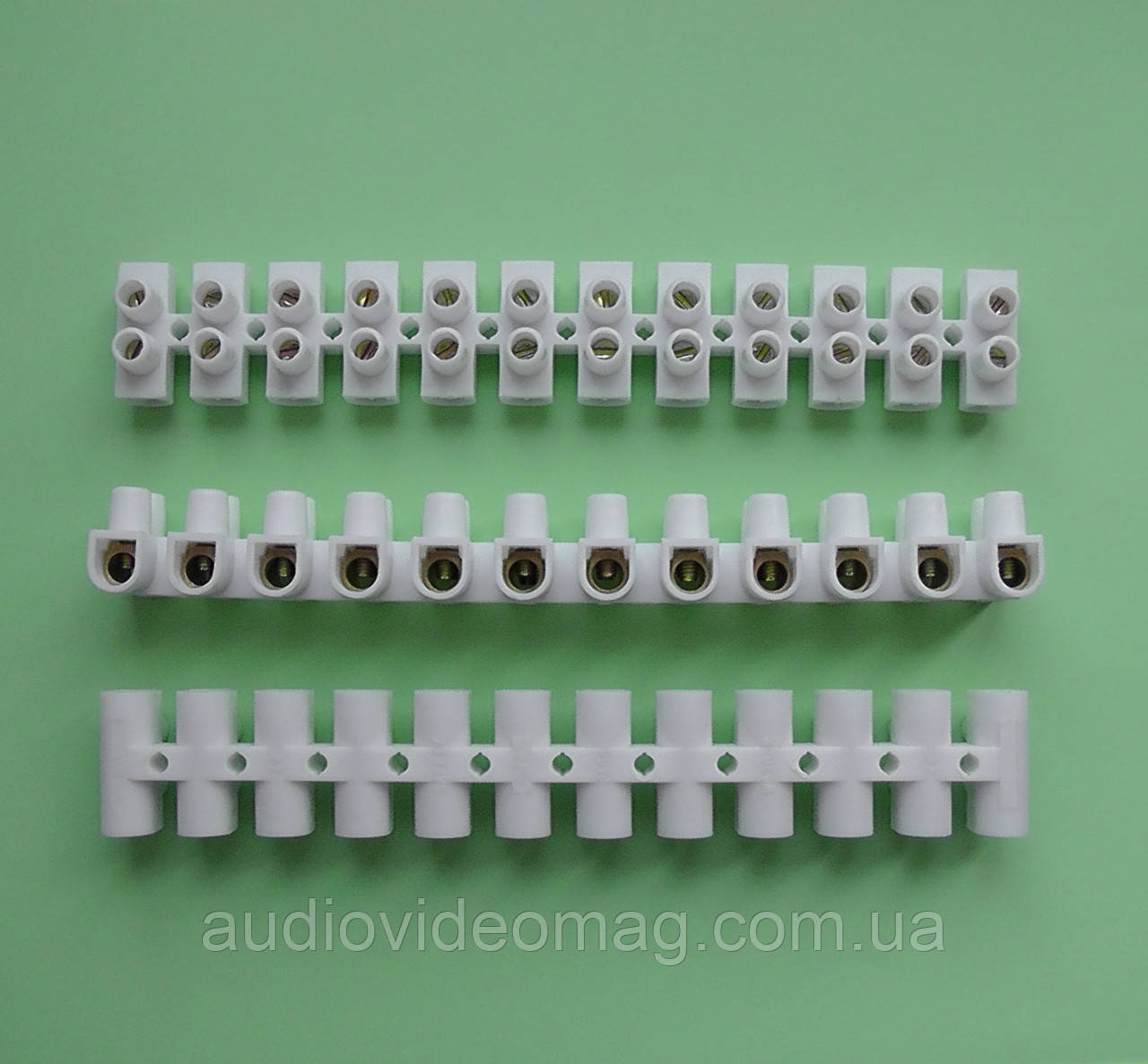 Клемна колодка 16 мм2 30А, пластик (РА) не підтримує горіння