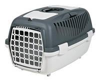 Переноска для животных Capri II 55*37*34. Трикси серая - для кошек и собак, фото 1