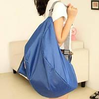 Летняя сумка с длинными ручками Blue