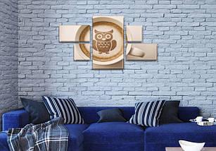 Картины на стену купить модульные, на Холсте син., 60x110 см, (18x35-2/18х18-2/60x35), фото 2
