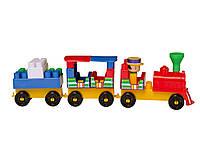 Конструктор пластмассовый волшебный поезд