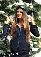 Женская куртка на меху, фото 1