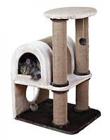 Домик для кошки Chiara, 92 см, светло-серый/тёмно-серый trixie