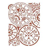 Трафарет 14х20 см Часовые маханизмы