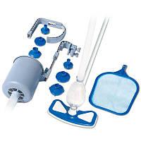 Набор для очистки дна и верхнего слоя воды Intex 58237 Бело-голубой (int58237)