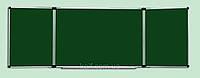 Доска комбинированная магнитная мел/маркер с 5 рабочими поверхностями (120х300)