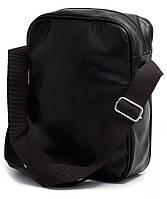 Мужская сумка из кожзаменителя через плечо POOLPARTY Арт.: pool18-pu черный