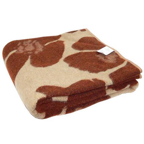 Одеяло жаккардовое Карпаты, Маки  140 х 205 140*205, фото 2