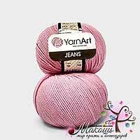 Пряжа Джинс Jeans YarnArt, №36, св. розовый