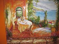 Художественная роспись стен,картины.