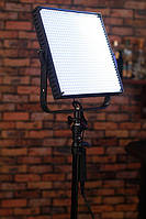 Би-светодиодный студийный свет Lishuai Fotodiox LED-900AS + комплект, фото 1