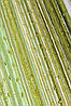 Шторы нити Радуга Дождь 13+15+19 ЗОЛОТО (шамань+салатовый+оливковый)