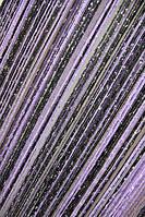 Кисея Радуга Дождь 9+12 (черный+сиреневый), фото 1