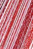 """Кисея  Радуга """"Дождь"""" № 1+4+17 (белый+бордовый+красный)"""