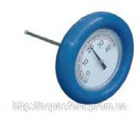 Термометр круглый Aquadoctor, Круглый плавающий термометр для бассейна, градусник для воды