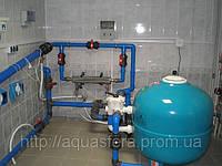 Замена/засыпка кварцевого  песка в фильтрационной установке
