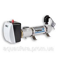 Электронагреватель 12 кВт. нерж-нерж. с датчиком протока